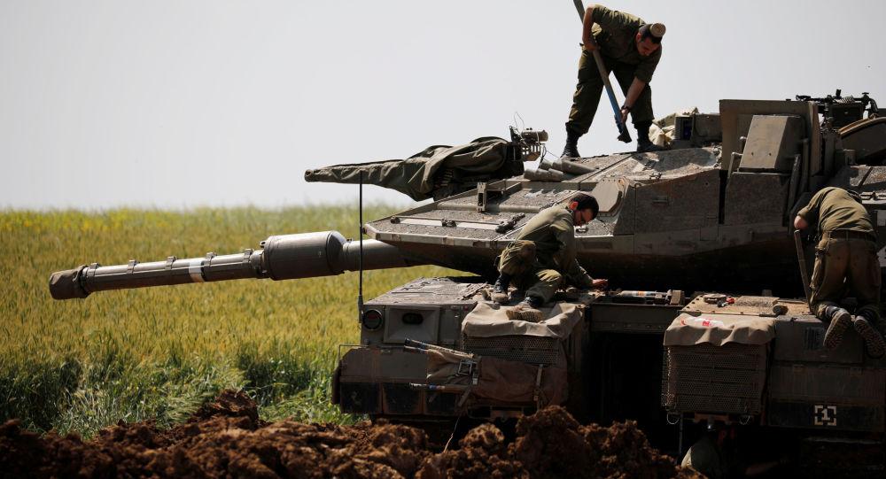 Los militares israelíes