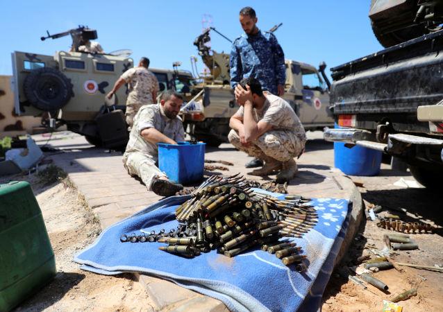 La situación en Trípoli, Libia