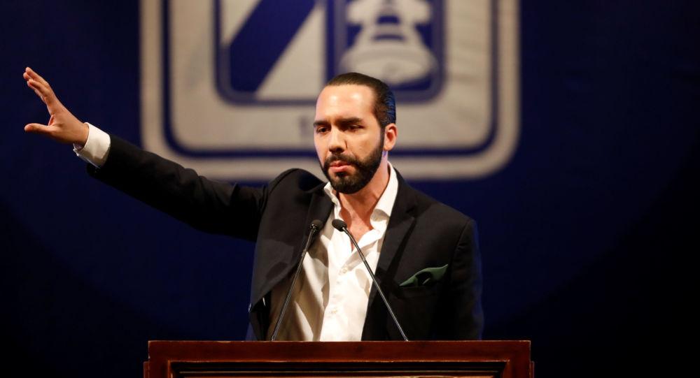Nayib Bukele, presidente electo salvadoreño
