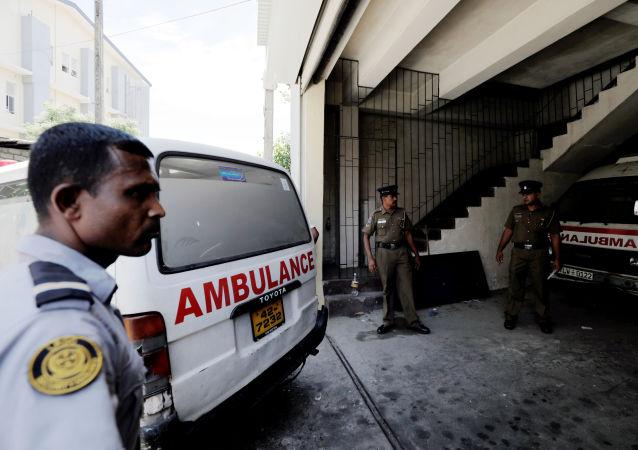 Ambulancias en Colombo, Sri Lanka