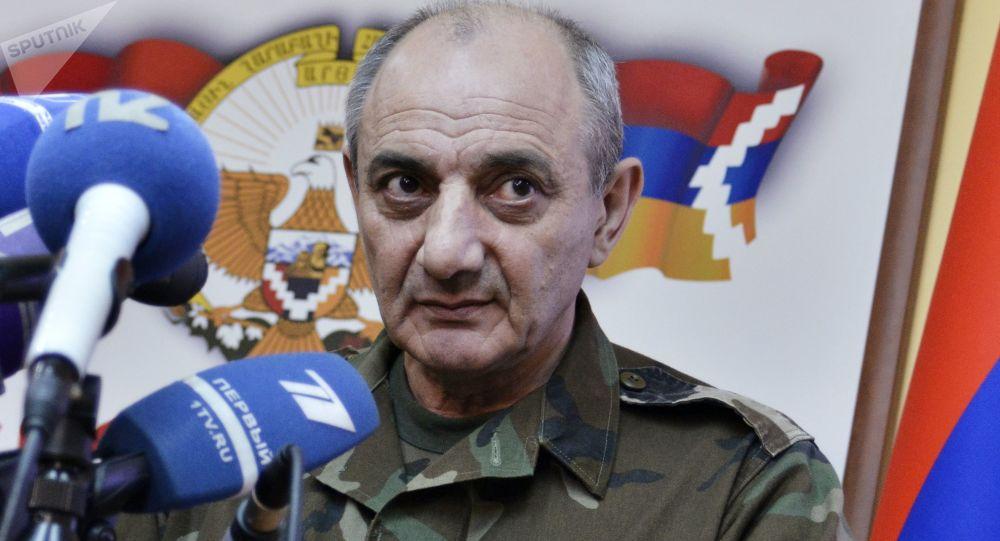 Bako Saakián, presidente de la autoproclamada República de Nagorno Karabaj (archivo)