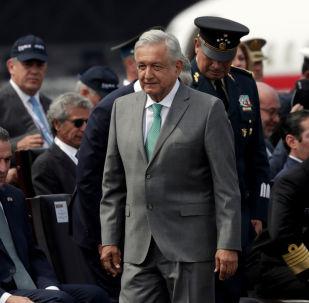 El presidente Andrés Manuel López Obrador