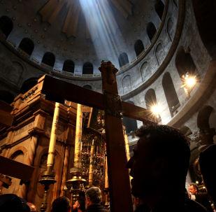 La iglesia del Santo Sepulcro de Jerusalén