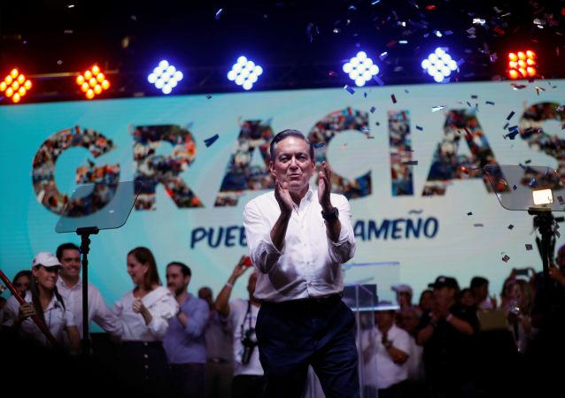 Laurentino 'Nito' Cortizo, ganador de elecciones presidenciales en Panamá