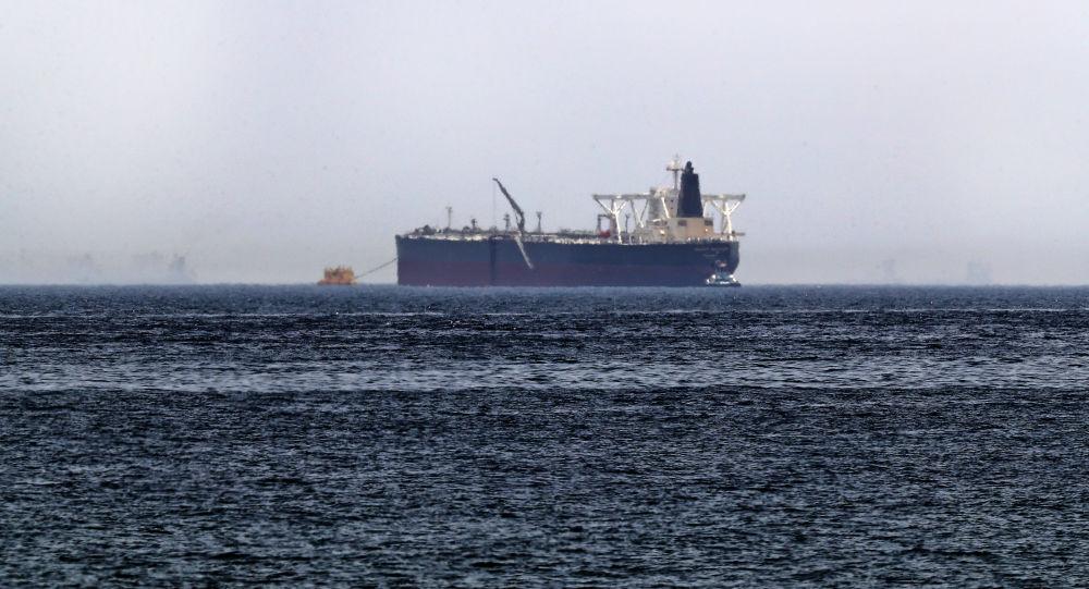 Uno de los barcos atacados en el puerto del emirato de Fujairah