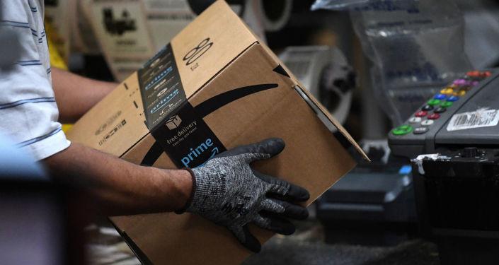 Almacen de empaquetamiento de Amazon en Baltimore
