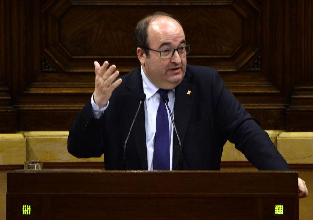 Miquel Iceta, diputado socialista español