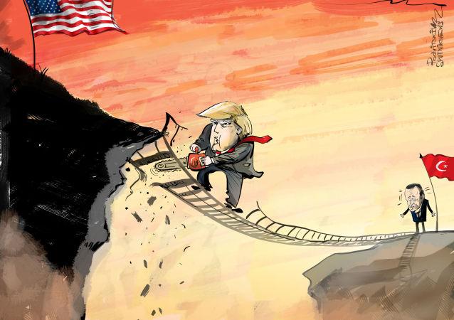 ¿Astucia o estupidez? Trump destruye el puente comercial con Turquía