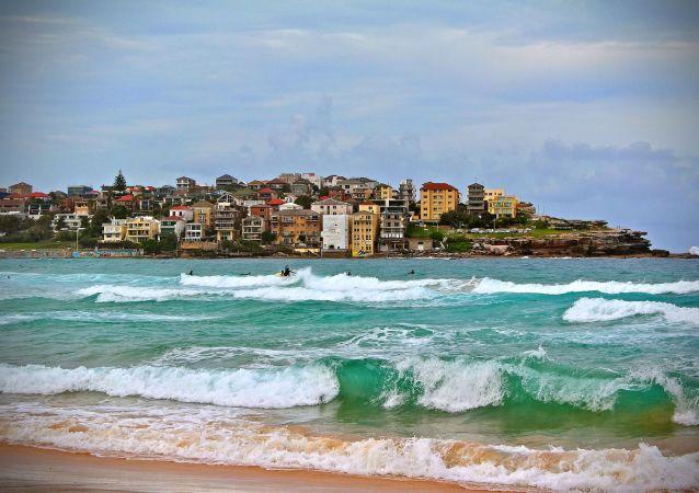 La playa de Bondi en Australia