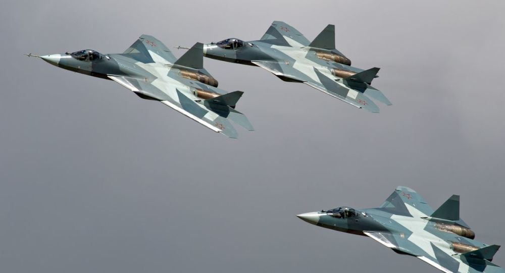 Cazas rusos Su-57
