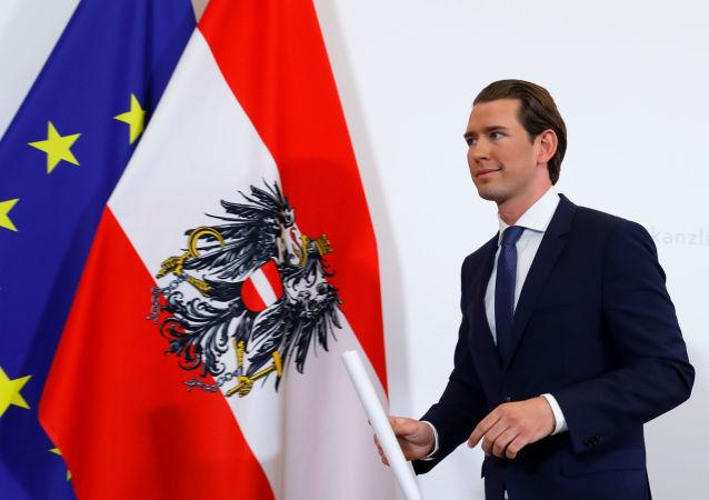 El canciller de Austria, Sebastian Kurz
