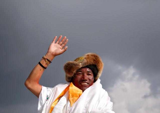 Kami Rita, 'sherpa', guía nepalés