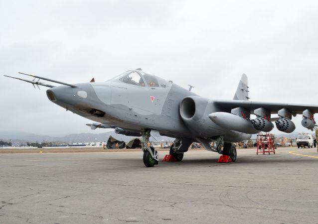 Su-25K de la Fuerza Aérea del Perú (imagen referencial)