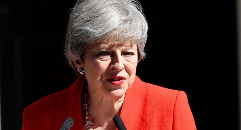 Theresa May, jefa del Gobierno británico