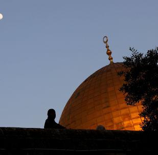 El atardecer en Jerusalén