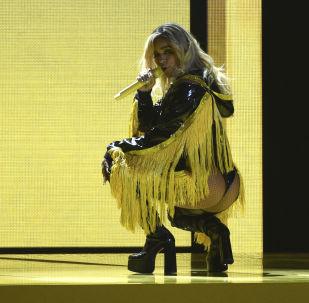 La cantante colombiana Carolina Giraldo Navarro, más conocida por su nombre artístico, Karol G