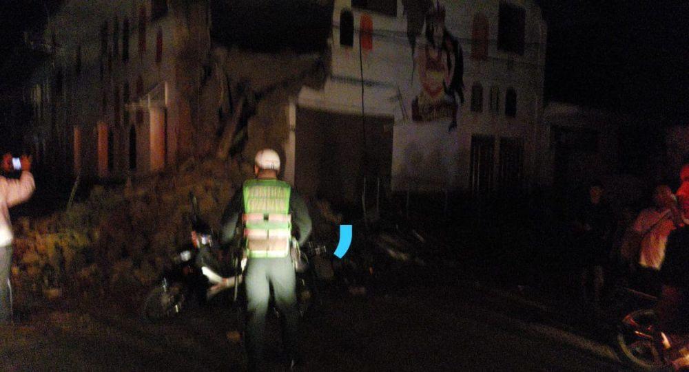 Terremoto de 8,0 Richter sacudió a Perú