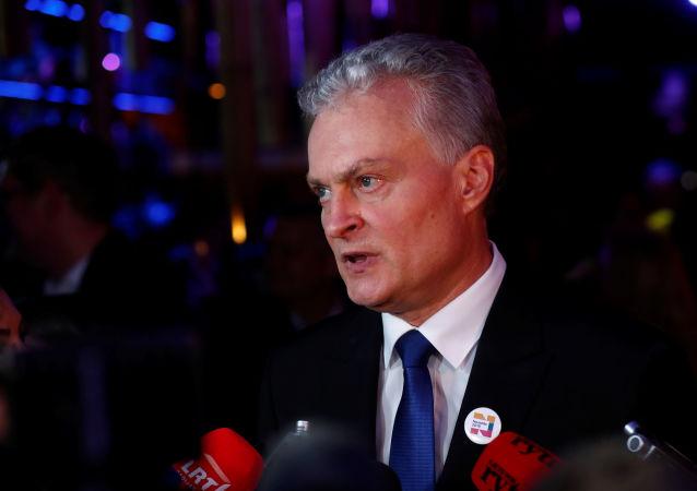 Gitanas Nauseda, presidente electo de Lituania