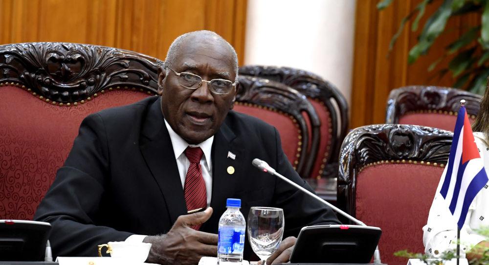 Salvador Valdés Mesa, primer vicepresidente de Cuba