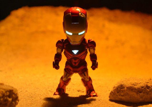 Una figurilla de Iron Man, 'el hombre de hierro' (imagen referencial)