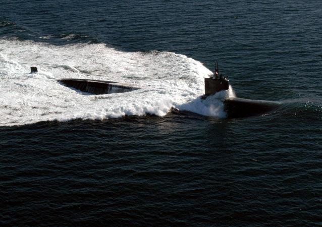 Un submarino de la clase Los Angeles
