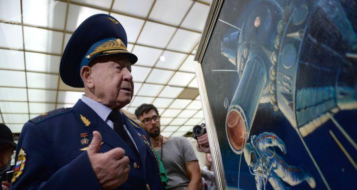 Alexéi Leónov, célebre cosmonauta ruso