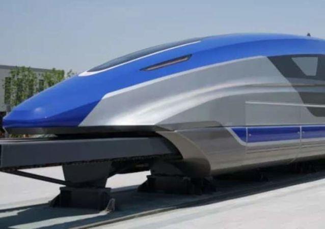 Nuevo tren maglev de China