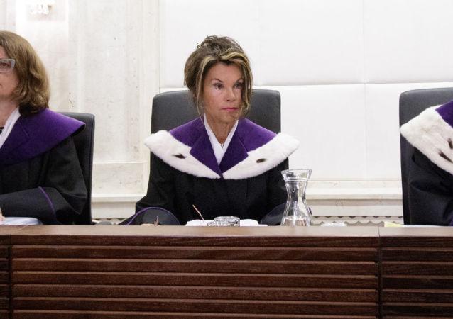 La jueza Brigitte Bierlein, la primera canciller mujer de Austria