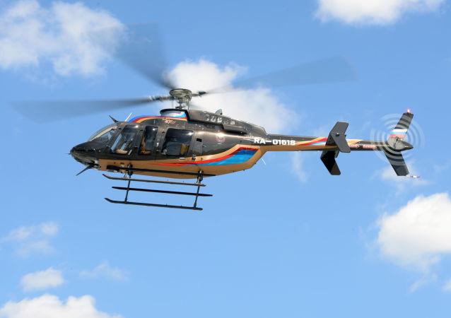 Un helicóptero (archivo)