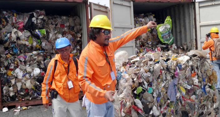 Retirada de basura de Filipinas