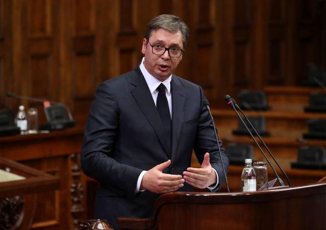 Alexander Vucic, el presidente serbio
