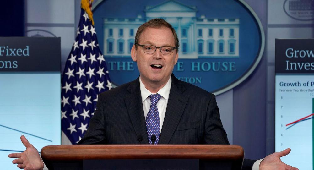 Kevin Hassett, presidente del Consejo de Asesores Económicos de EEUU