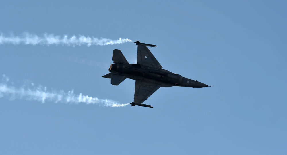 Caza F-16 (imagen referencial)