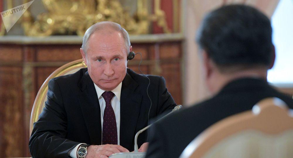 'Locos' los países que apoyan a Juan Guaidó: Vladimir Putin