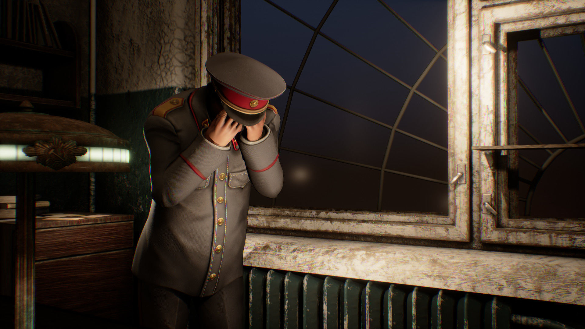 Captura de pantalla del videojuego 'Sex with Stalin'