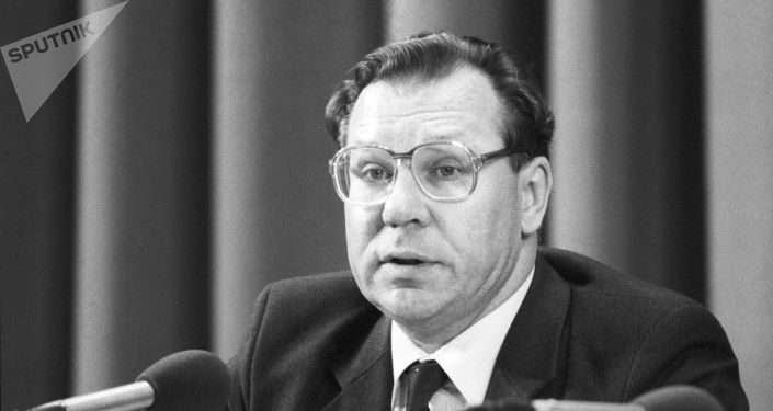 Valeri Legásov, científico soviético