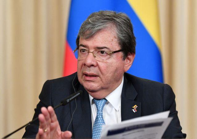 El ministro de Relaciones Exteriores de Colombia, Carlos Holmes Trujillo