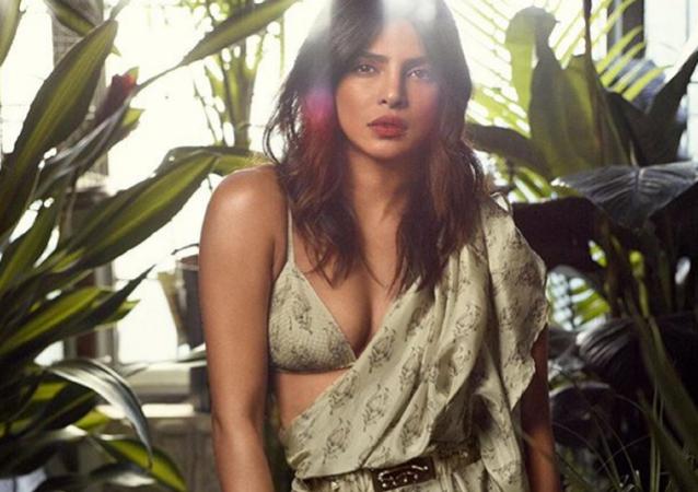 Priyanka Chopra, famosa actriz y modelo de la India