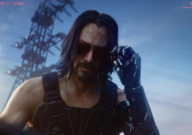 Keanu Reeves da vida a un personaje del videojuego Cyberpunk 2077