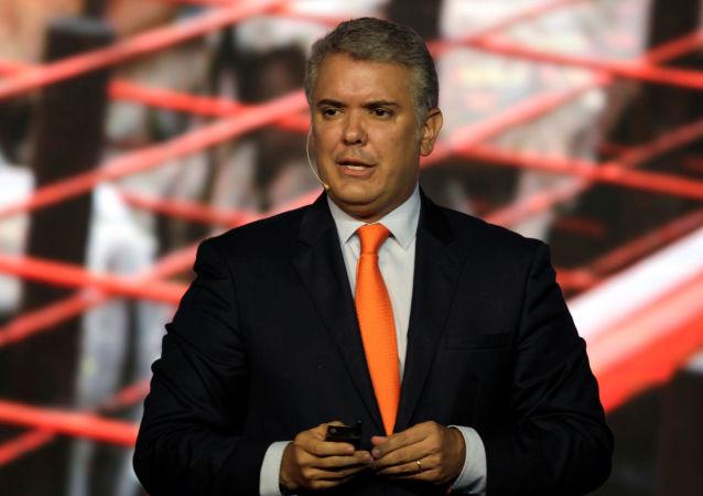 Iván Duque, el presidente de Colombia