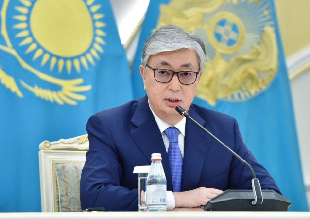 Kasim-Zhomart Tokáev, presidente electo de Kazajistán