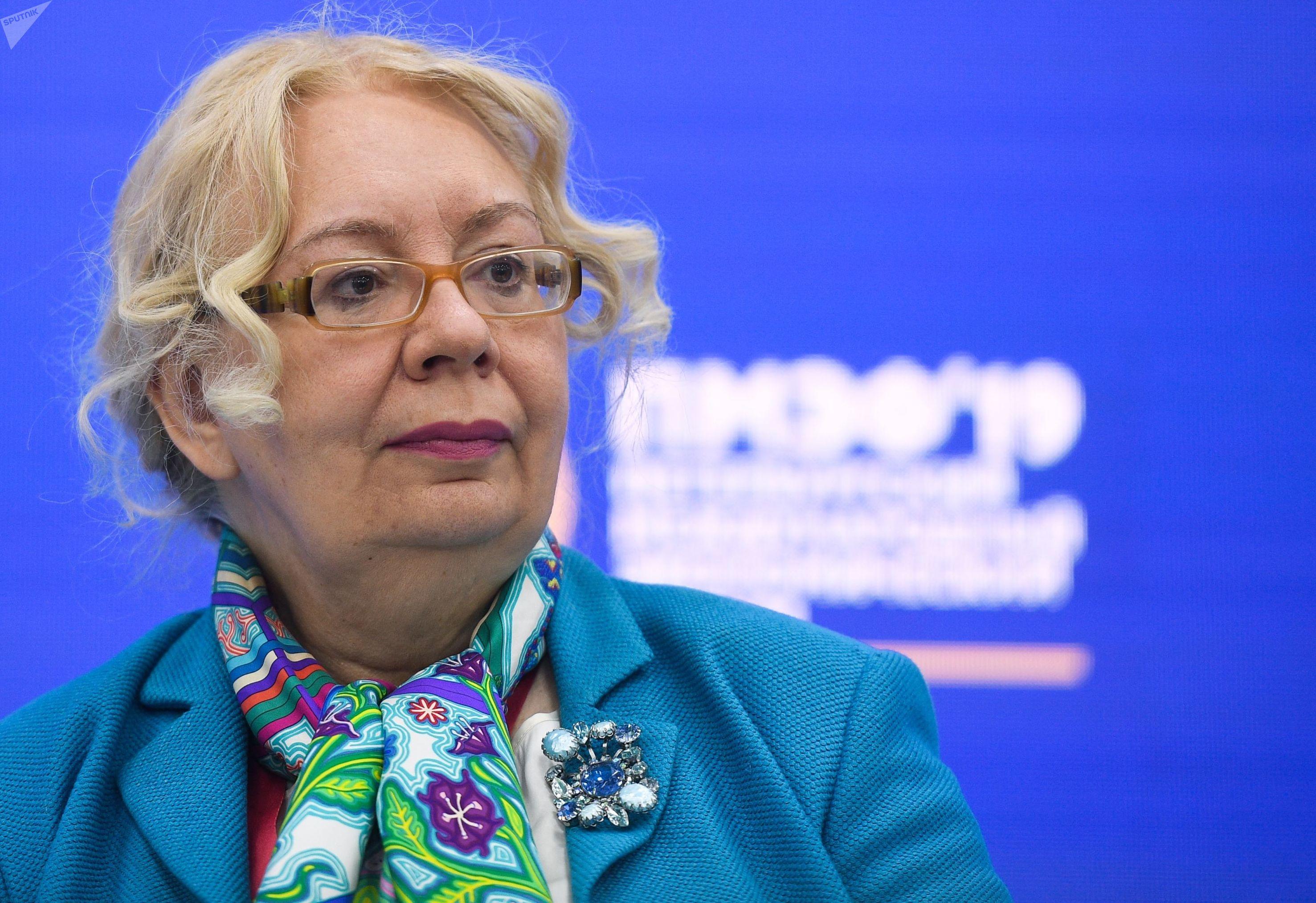 Responsable de la Unión Euroasiática de Integración y Macroeconomía Tatiana Valovaya_