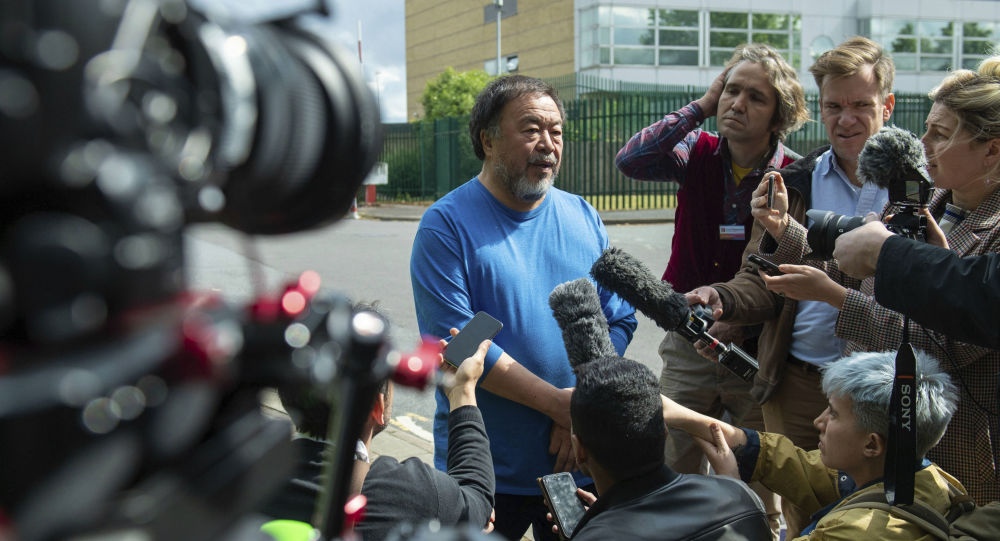 El artista contemporáneo chino Ai Weiwei