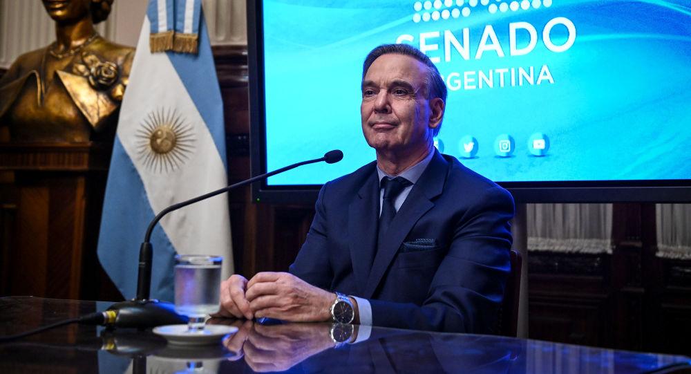El candidato a la vicepresidencia de Argentina por el frente Juntos por el Cambio, Miguel Ángel Pichetto
