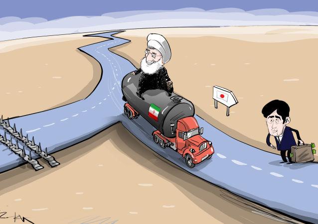 ¿Sanciones? El camión de crudo iraní toma la carretera japonesa