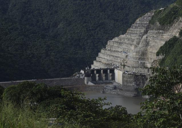 La represa Hidroituango en Colombia (archivo)