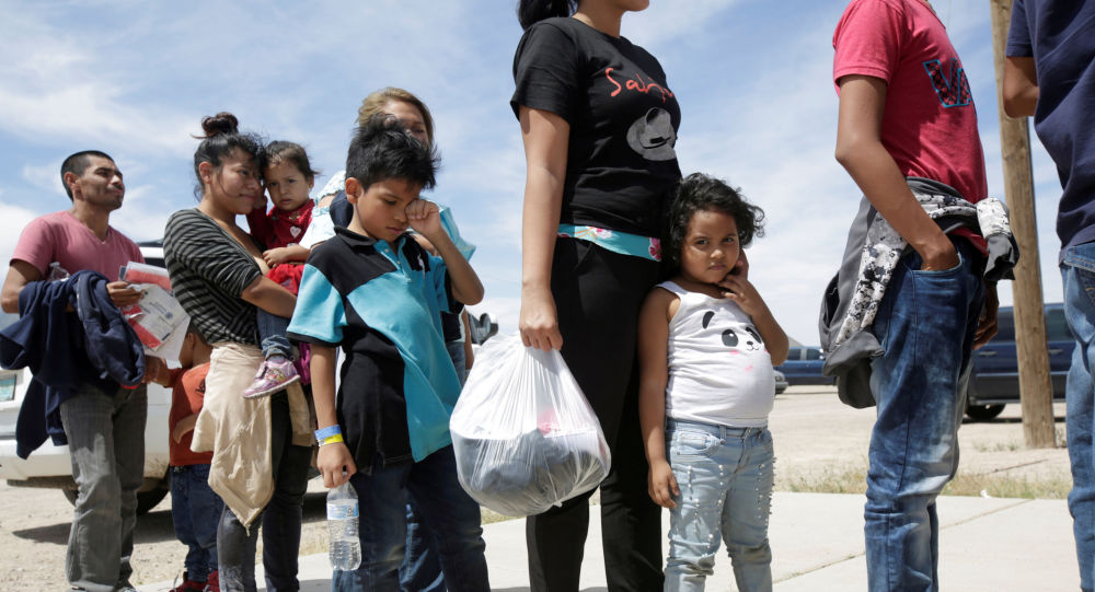 Personas de Centroamérica detenidas en EEUU por su situación migratoria irregular