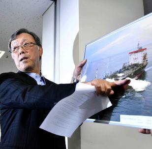 Yutaka Katada, presidente de Kokuka Sangyo, operadora de uno de los dos petroleros atacados en el golfo de Omán