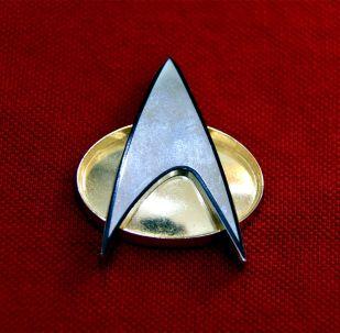 El logo de la Flota Estelar