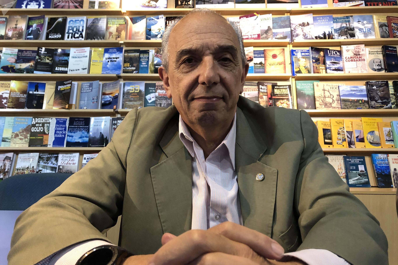 Juan José Membrana, piloto excombatiente de la Guerra de Malvinas